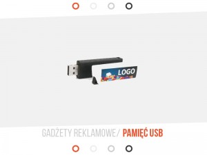 Pendrive Click 8Gb UV, 10 SZT.